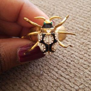 Betsy Johnson cocktail ring